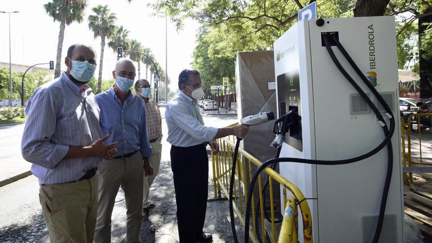 Murcia sumará diez puntos de recarga rápida de vehículos