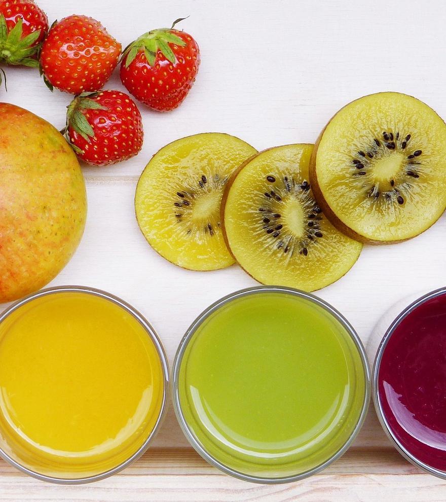Cinco jugos de frutas y verduras para mantener la línea