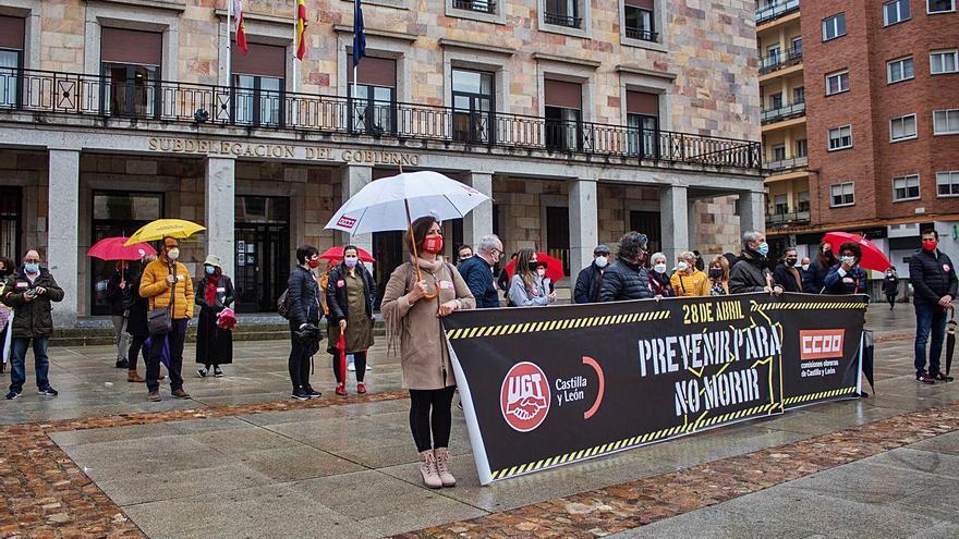 Los sindicatos de Zamora reclaman una mayor protección en los entornos laborales