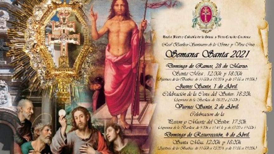Celebraciones Semana Santa 2021 en la Basílica-Santuario de la Vera Cruz