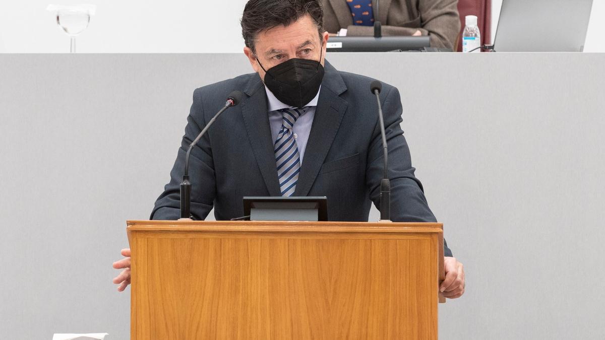 Portavoz del grupo parlamentario Ciudadanos, Juan José Molina