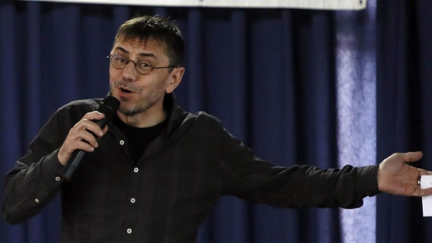 El juez cree que Monedero cobró 26.200 euros de Neurona con una factura falsa