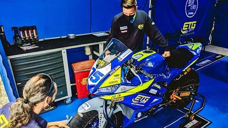 Francesc Pérez i ETG Racing s'estrenen   en el Campionat del Món de Superbikes