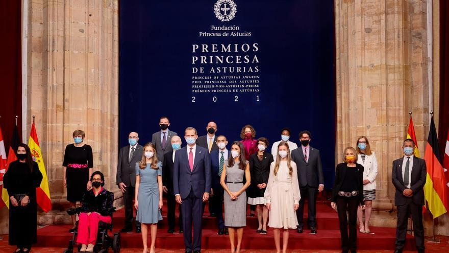 """Las audiencias en el Reconquista devuelven la normalidad y la cercanía a los premios """"Princesa de Asturias"""""""