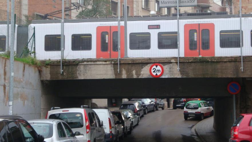 FGC licita l'estudi informatiu per a l'ampliació de la línia Llobregat-Anoia a Manresa
