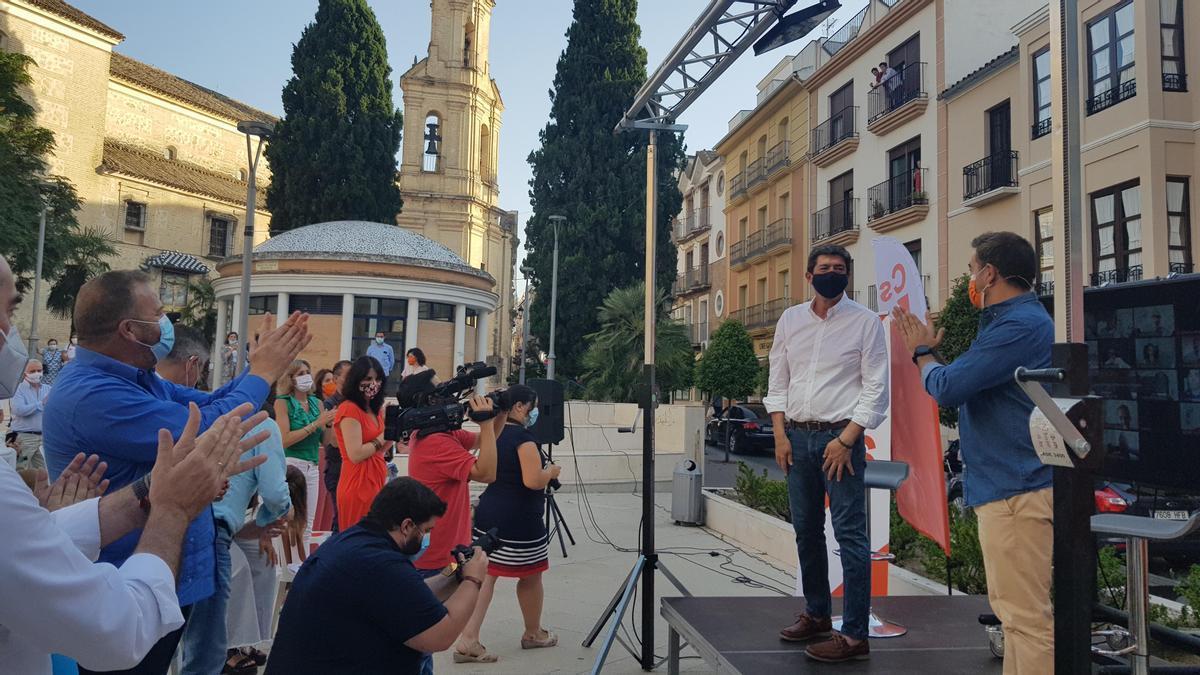 Juan Marín, en el acto celebrado en Lucena.