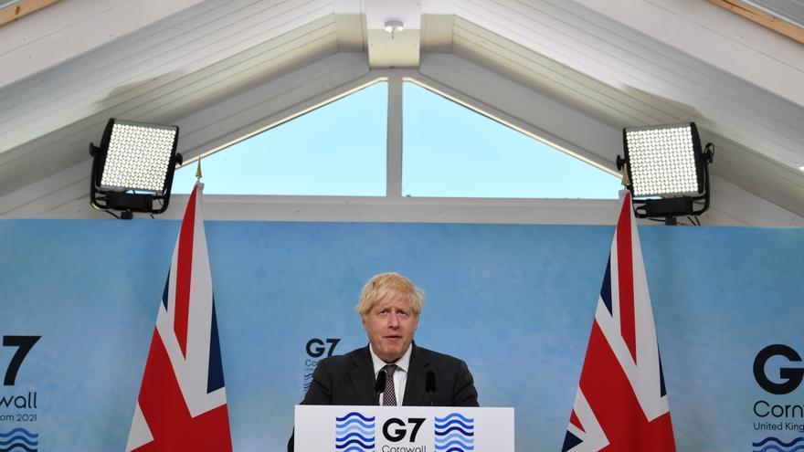 """Johnson: """"Haré todo lo que haga falta para preservar la integridad territorial del país"""""""