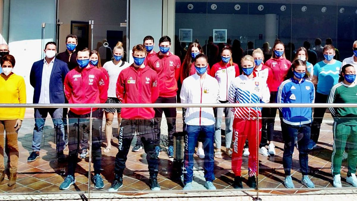 Karatecas internacionales preparan en Mogán las Premier League | LP/DLP