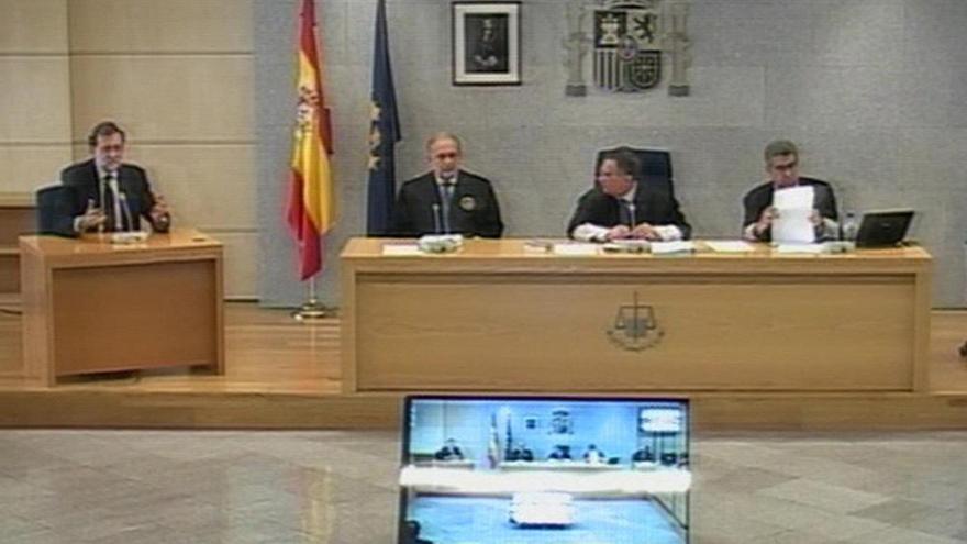 Declaración de Rajoy ante el tribunal de la Gürtel