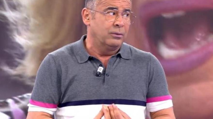 """Jorge Javier """"da la nota"""" al mofarse descaradamente de un conocido presentador de televisión"""