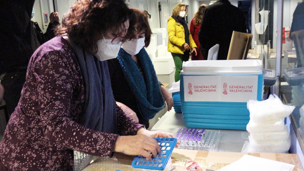 Plan de vacunación contra el coronavirus para la Comunitat Valenciana