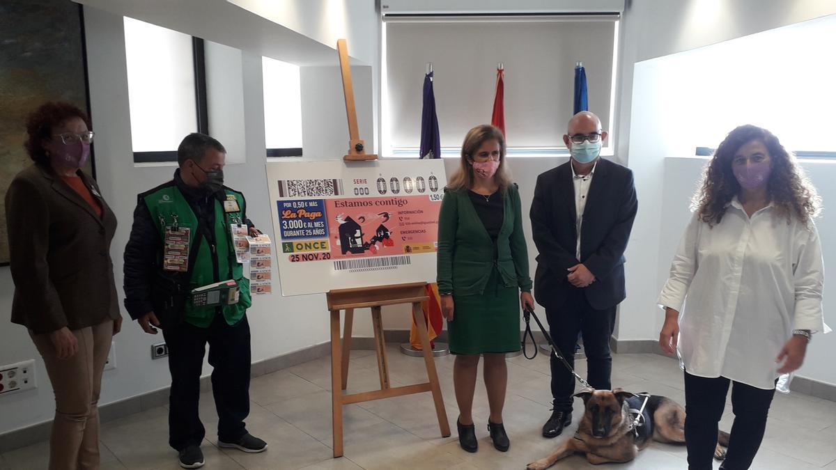 La ONCE ha presentado el cupón en Palma.
