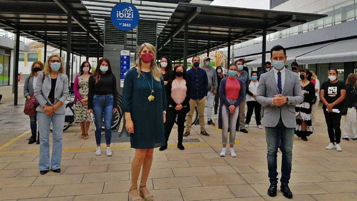 Bienvenida a los trabajadores incorporados al Ayuntamiento de Eivissa. | AE