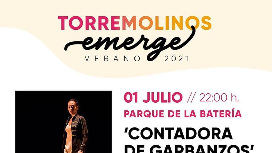 Torremolinos emerge: Contadora de garbanzos