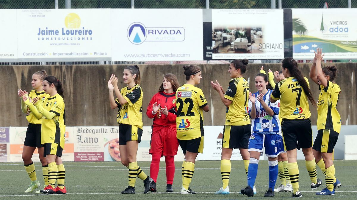 Víctoria por 6-1 del Mos femenino ante el Valladares