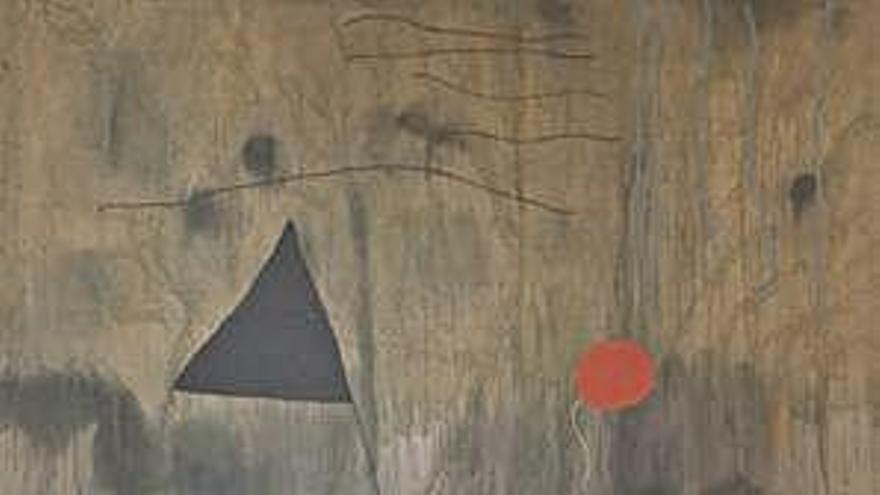 El MoMa de Nova York se submergeix en la creativitat poètica del primer Joan Miró