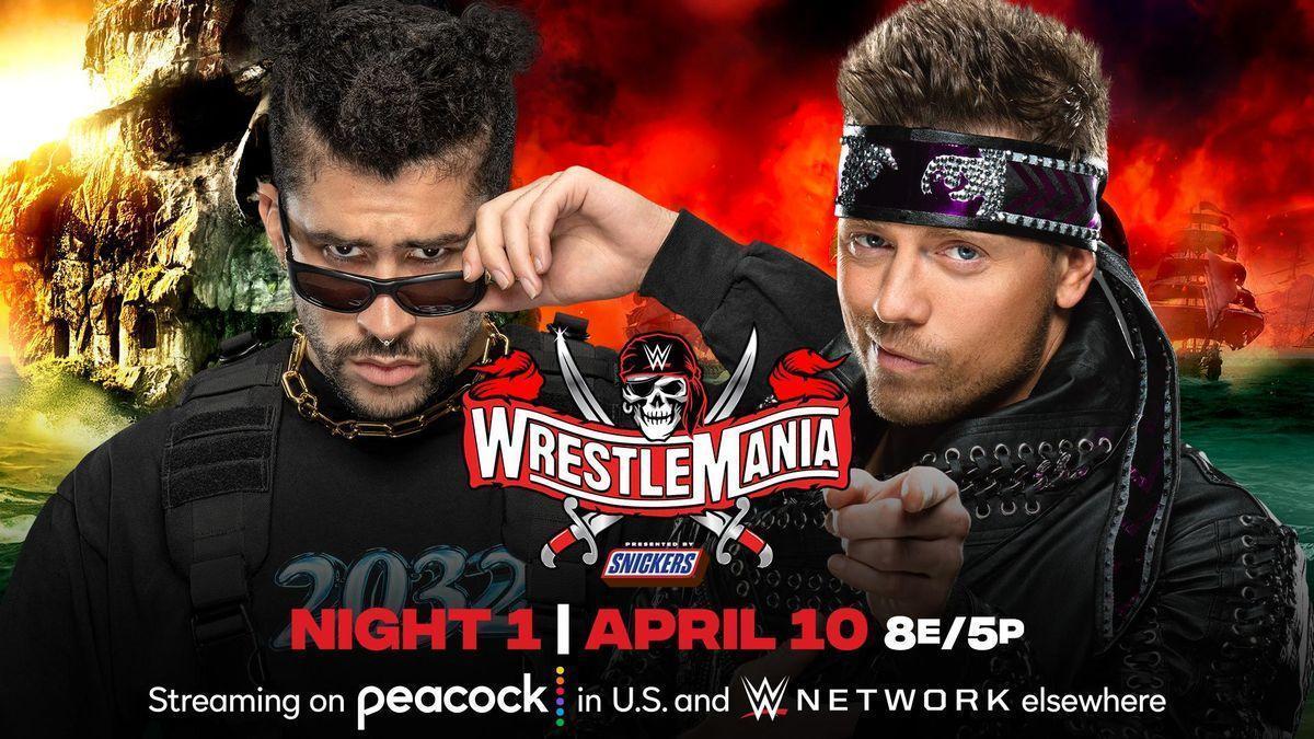 Bad Bunny debutará en la WWE, la mayor cita de lucha libre, el 11 de abril