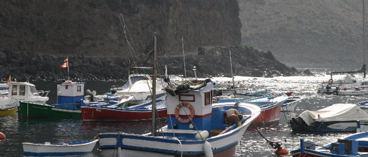 Costa norte de La Gomera.