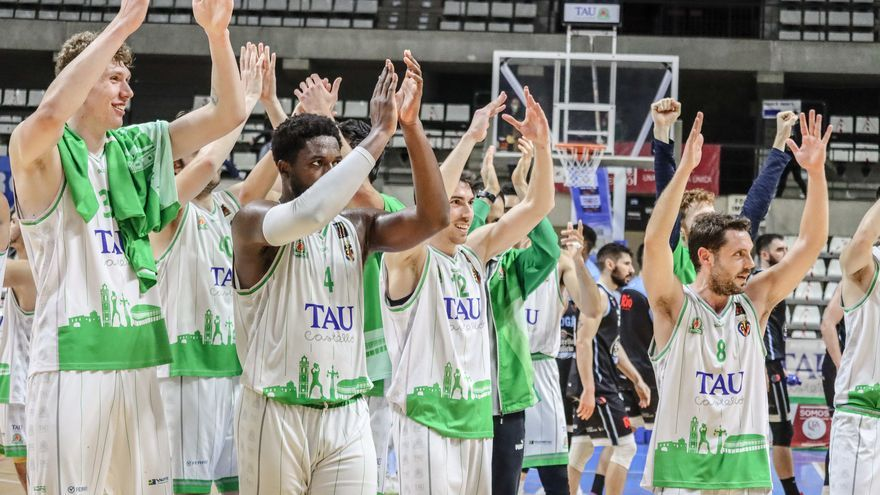 Tres eliminatorias separan al TAU Castelló de la Liga ACB