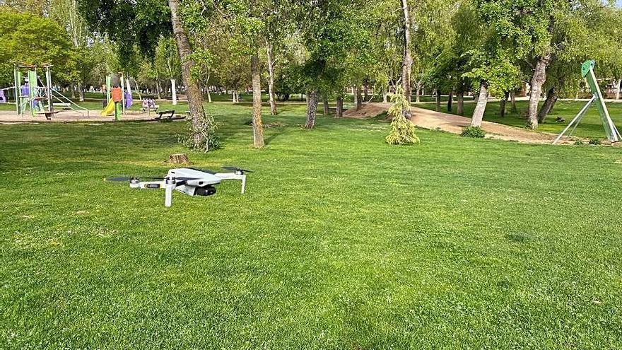 Comienzan a digitalizarse las zonas verdes de Ejea