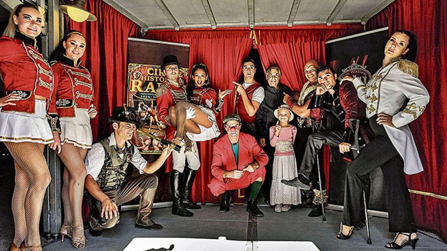 Zeitreise mit dem Zirkus auf Mallorca