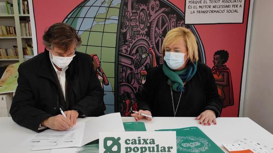 Caixa Popular renova l'aliança amb la Fundació Horta Sud