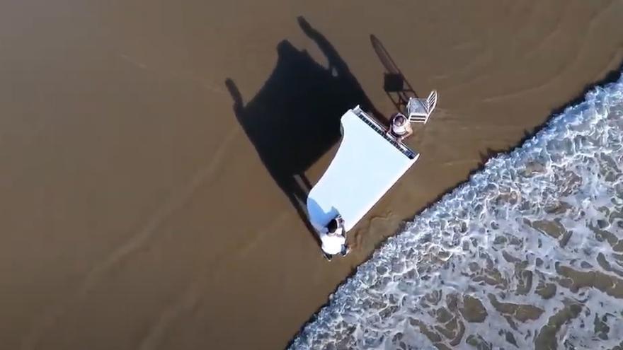 """""""Garganta con arena"""", el videoclip que muestra cómo suena A Lanzada"""