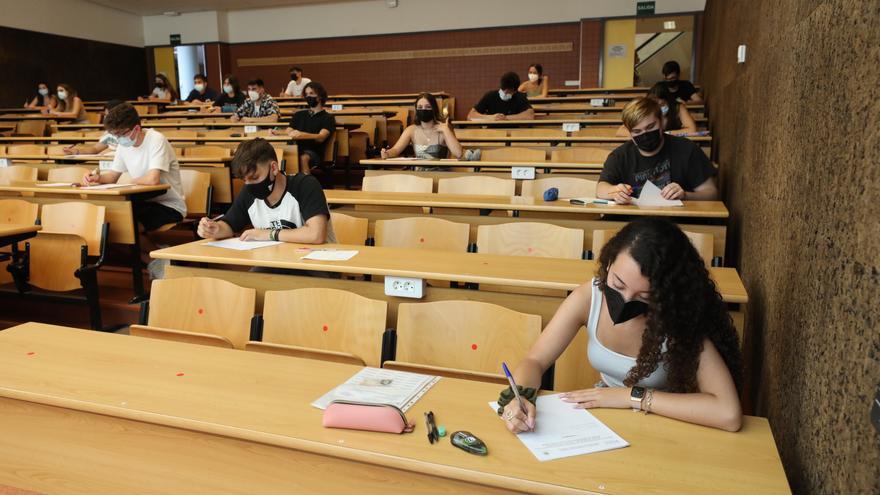 Nueve de cada diez alumnos superan la convocatoria extraordinaria de Selectividad
