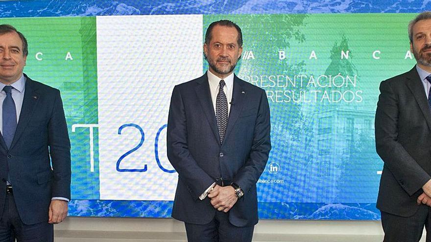 Abanca gana 160 millones en 2020 tras blindar su solvencia y con la menor morosidad del sector