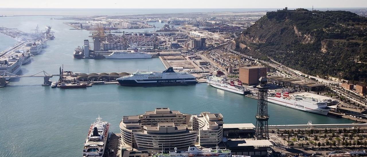Una imagen del  Puerto de Barcelona.