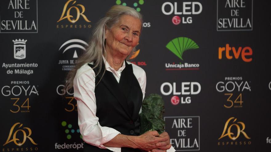 """Benedicta Sánchez: """"La naturaleza tiene que estar muy contenta"""""""