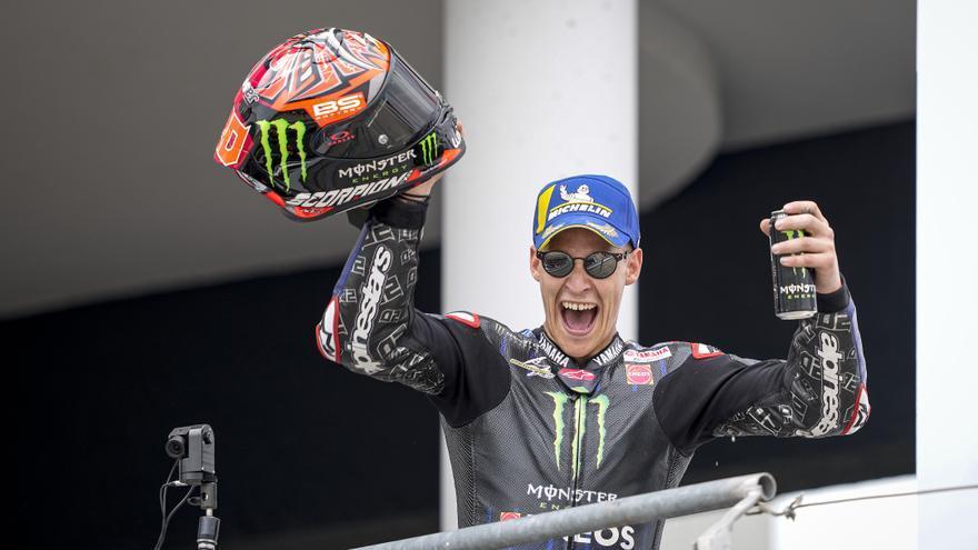 Quartararo, ganador de MotoGP 2021 en el circuito de Assen