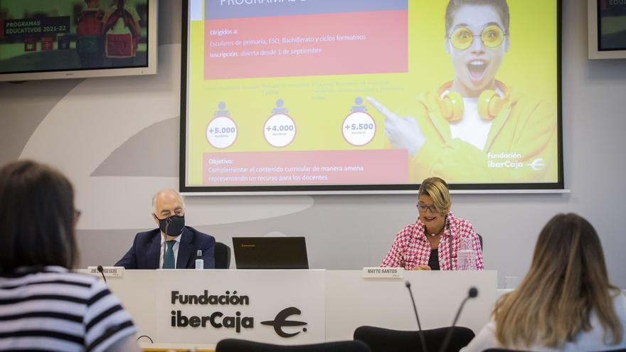 Fundación Ibercaja inicia su programación educativa con actividades presenciales y 'online'