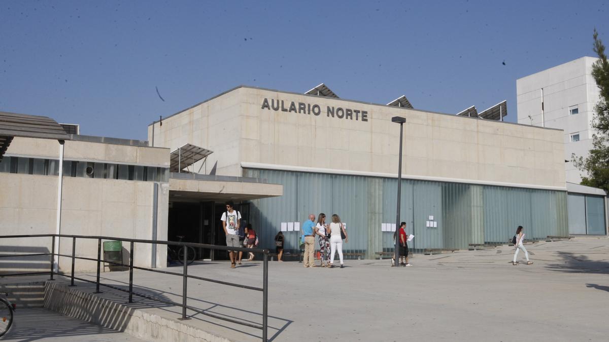 Aulario Norte del campus de Espinardo de la UMU