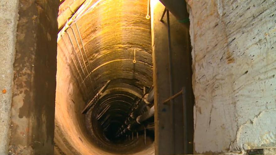 """Soler, tras visitar al túnel : """"La Palma tiene más de cuatro veces el agua que necesita"""""""