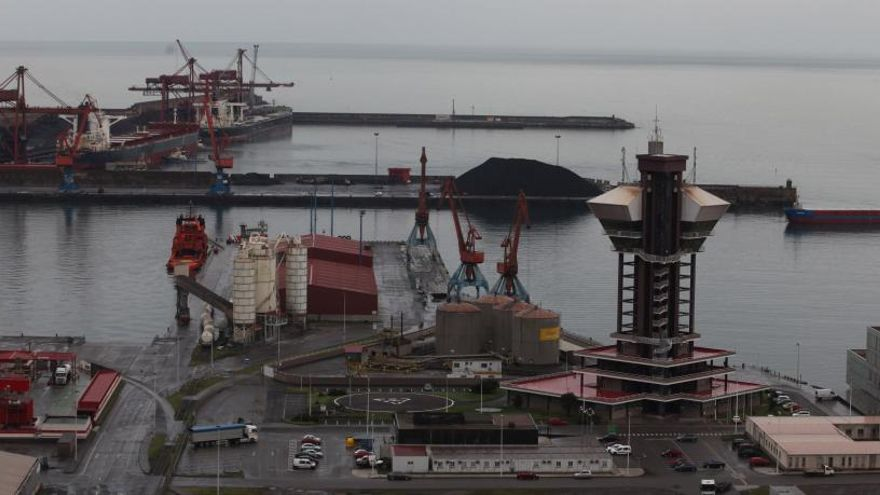 Pinchazo de las exportaciones asturianas en enero