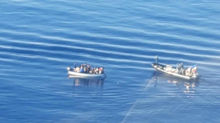 Flüchtlingsboote erreichen auch am Sonntag die Balearen