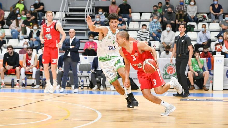 El Bàsquet Girona pateix la primera derrota de la temporada (72-67)