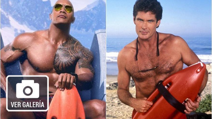 'Baywatch': Los actores originales vs los nuevos protagonistas