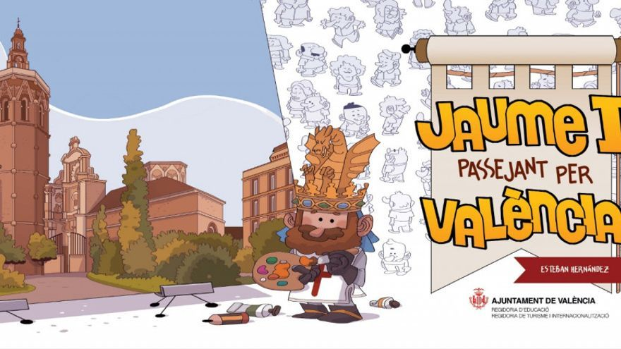 Un 'Dónde está Wally' a la valenciana para buscar a Jaume I