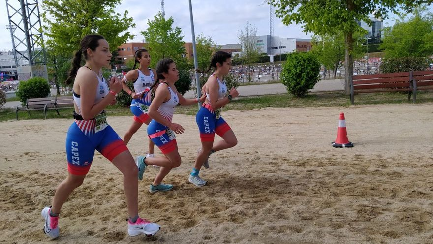Capex y Triatlón Pacense, en los nacionales de duatlón por clubs