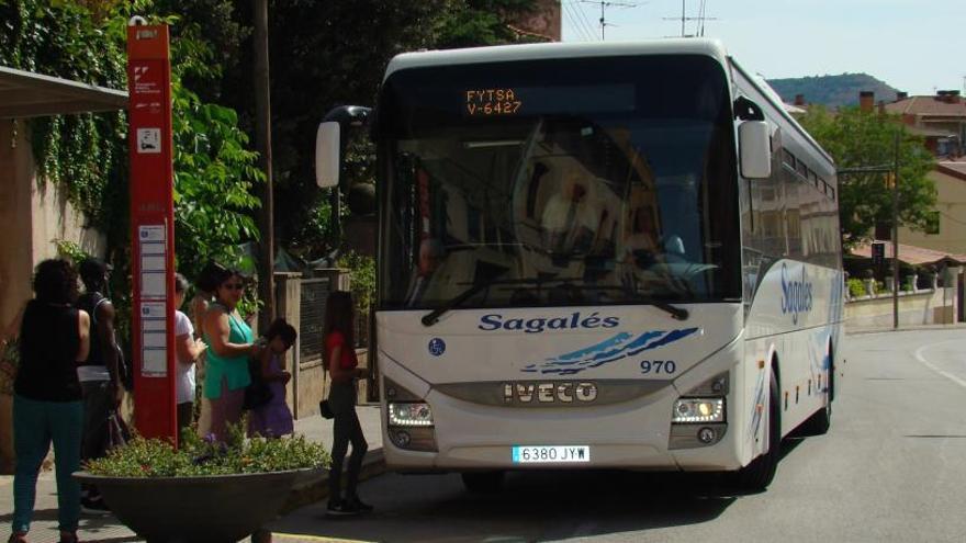 Posen en marxa un nou servei de Transport Públic a Demanda al Bages