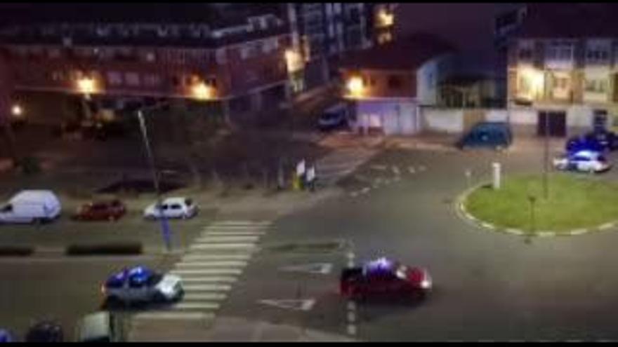 Ambulancias, Policía, Guardia Civil y Protección Civil hacen sonar sus sirenas por Benavente