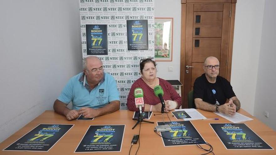 El Stec apela a recuperar el espíritu del boicot del 77