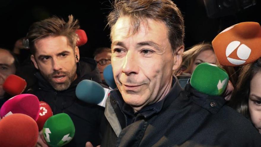 Ignacio González pide personarse en el 'caso Villarejo'