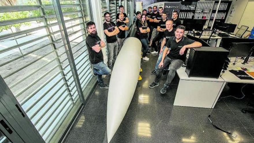 La ilicitana PLD Space se compromete a lanzar 30 nanosatélites con su cohete