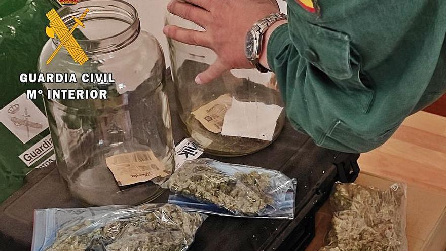 Un joven, sorprendido en un control en Morales de Toro con 250 gramos de marihuana