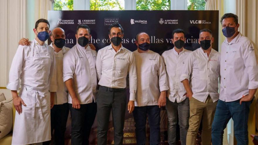 Miguel Barrera y Raúl Resino participan en la noche de las estrellas valencianas en Madrid