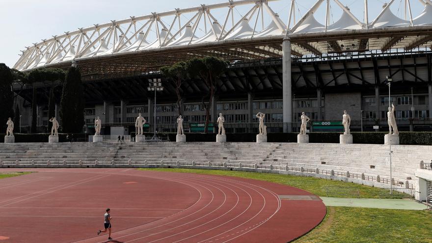 Desactivan una bomba cerca del estadio olímpico de Roma, donde se juega la Eurocopa