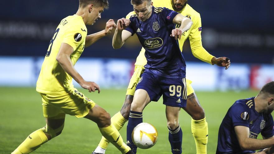 El capitán del Dinamo de Zagreb se lesiona antes del partido del Villarreal